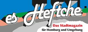 """Stadtmagazin """"es Heftche""""® für Homburg und Umgebung"""